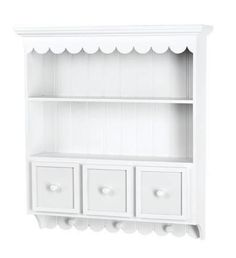 Doodlebug Design - Fashion Furnishings Collection - Collectable Cupboard - White at Scrapbook.com