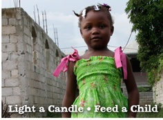 Light a Candle. Feed a Child.