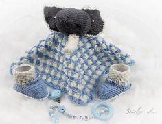 Geschenke-Sparset Schmusetuch Elefant _041 von Strickparadies