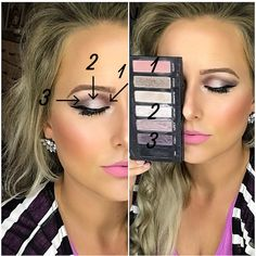 Recreate this eye Shadow look by using Younique's Addiction Palette 3. All Younique products were used to create this look. Find me on Facebook for more looks, tutorials, and other cool makeup related stuff--Younique By Rachele (Rachele Lantz)