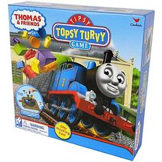 Cardinal Ind Toys Thomas & Friends - Tipsy Topsy Turvy Game #Thomas&Friends