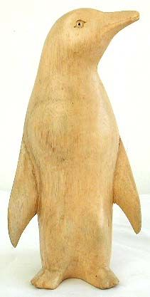 Penguin designs, wooden art, handcrafted carvings, bali wood figures, home decoration, artisan crafts, Indonesian collectibles