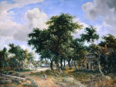 Картинная галерея старых мастеров, Берлин, Германия - Собрание пейзажей и…