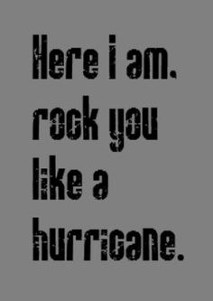 Scorpions - Rock You Like a Hurricane - song lyrics, music lyrics, song quotes