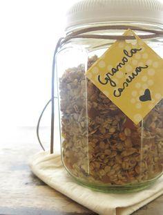 Passo a passo: granola caseira