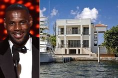 Lebron James's Lavish Miami Mansion-The King and His Castle   Love him or hate him, four-time NBA MVP Lebron James usually gets his way...at least when it comes to basketball. If you're talking real estate, however, even King James has to wait for the right buyer and endure a few price cuts. Such was the case for the all-star's Coconut Grove mansion, which languished on the market for over a year after he departed Miami for Cleveland, and just found its new owner for a mere $13.4 million.
