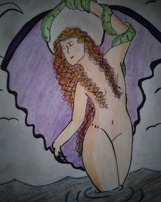 Dibujo de lilith Draw, Drawings, To Draw, Sketches, Painting, Tekenen, Drawing