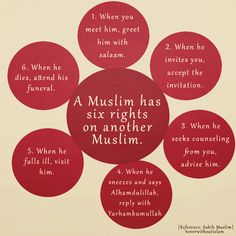 Islamic Quotes ~~~ This doesn't just apply to Muslim's, but to ALL people regardless of their faith or non-faith. It's basic human kindness that so many have forgotten.