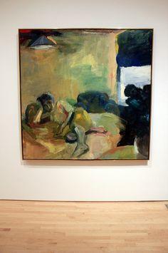 Girl Reclining, by Elmer Bischoff