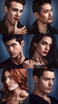 Why are all cute boys in Shadowhunters? Alec Lightwood, Isabelle Lightwood, Jace Wayland, Clary Et Jace, Clary Fray, Shadowhunters Series, Shadowhunters The Mortal Instruments, Constantin Film, Simon Lewis