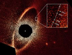 In 2008, astronomers using Hubble Space Telescope announced they had found a planet orbiting the young nearby star Fomalhaut, located a mere 25 light years away. In fact, it was one of the very first alien planets ever directly imaged