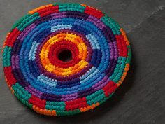 Pocket Discs are colorful throwing discs made from 100% cotton, hand crocheted by Maya artisans in Guatemala using Fair Trade practices. Suitable for everyone from kids and grown-ups to pets, the Pocket Disc Beast edition floats and is perfect for water play.