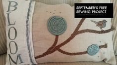 Pfaff - September 2014 - Free Sewing Project - Abundant Textures