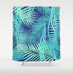 Ferns pattern Shower Curtain http://society6.com/product/ferns-ipz_shower-curtain#35=287