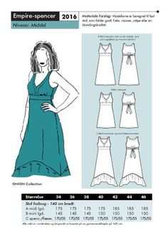 empire dress pattern to buy
