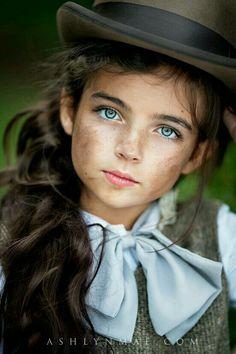 Cute girl ...beautiful eyes
