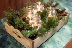 Régi, kopott fadobozból is lehet karácsonyi hangulatot varázsolni. Megmutatom mit lehet alkotni!
