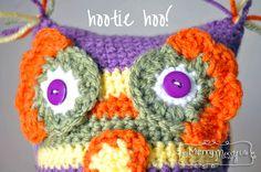 Free Crochet Pattern Owl Amigurumi  ☀CQ #crochet #crafts #DIY.  Thank you for sharing! ¯\_(ツ)_/¯