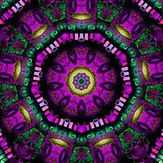 Mandala Kaleidoscope spiritual energy