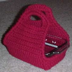 LOAF PAN TOTE Crochet Pattern