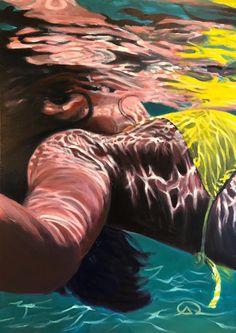 Découvrez ce projet @Behance: «Ocean Paintings 2018» https://www.behance.net/gallery/62512173/Ocean-Paintings-2018