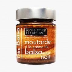 Moutarde à la crème de vinaigre balsamique - Savor & Sens