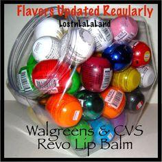 Revo Lip Balm - Walgreens & Beauty 360 UPDATED REGULARLY - Pick Your Flavor #Walgreens