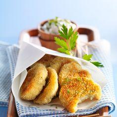 Découvrez la recette croquettes de crabe facile sur cuisineactuelle.fr.