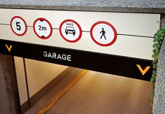 BSN Garage / signage design on Behance