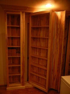 Beau Hidden Door Bookshelves | Pinterest | Doors, Hardware And Remodeling Ideas
