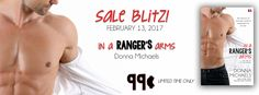 Reese's Reviews: Sale Blitz for IN A RANGER'S ARMS by Donna Michael...