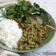 Egyszerű dahl 4db Dahl, Curry, Asian, Food, Cilantro, Curries, Essen, Meals, Yemek