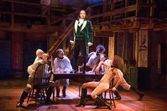 Lin-Manuel Miranda's independent-minded new musical presents the 18th-century tale of Alexander Hamilton via hip-hop and R&B ballads.