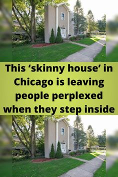 This '#skinny house' in Chicago is leaving #people #perplexed when they step #inside