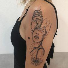 Faça sua tatuagem em Maio e Junho 2021: Artistas com Agenda Aberta! - Blog Tattoo2me Junho, Sketch, Skull, Portrait, Tattoos, Blog, Japanese Tattoo Art, Abstract Art Tattoo, May