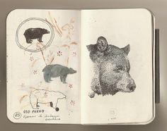 Juan Carlos Osorno Saldarriaga libreta de procesos 2013 sketchbook