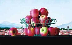 "James Aponovich ""Lucca: Still Life with Apples,"" 1996, oil on canvas"