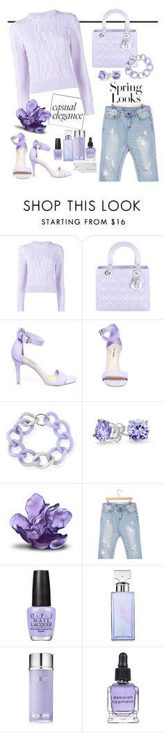 """Weekend in Milan "" by teryblueberry ❤ liked on Polyvore featuring Christopher Kane, Christian Dior, Steve Madden, Maiko Nagayama, Bling Jewelry, Daum, stylebyyam, H&M, OPI and Calvin Klein"