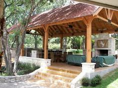 outdoor kitchen cabana - Google Search