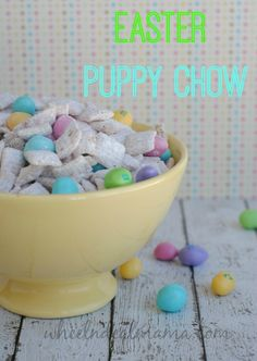 Easter Puppy Chow Recipe