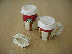 coffee cup holder テイクアウト用コーヒーカップホルダー