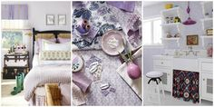 Lilac is the color that's taking over Pinterest and homes this year.
