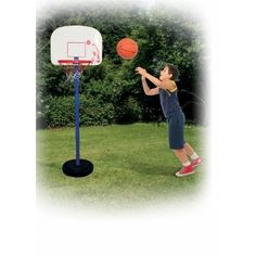 The Traditional Garden Games Junior Basketball Set with a junior basketball and pump is great for practice or playing games. Basketball Equipment, Basketball Skills, Sports Equipment, Easy Shots, Free Throw, Perfect Game, Games For Kids, A Team, Things That Bounce
