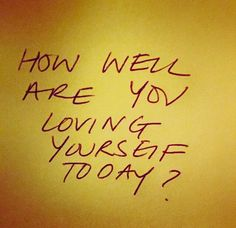LOVE yourself every day!