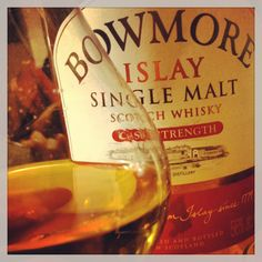 Bowmore, the only peaty whisky i can drink