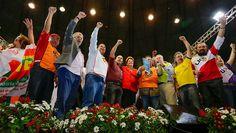 Blog do Osias Lima: Dilma recebe o apoio das centrais sindicais que re...