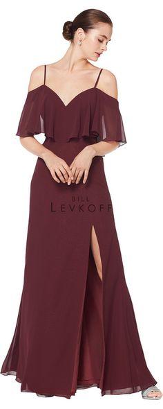 6460241f0a0 Bridesmaid Dress Style 1606 Bill Levkoff Bridesmaid Dresses