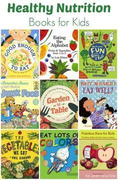 Healthy Nutrition Books for Kids (Nutrition Study Unit)