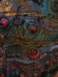 """Three Leaves"" detail...Gordana Brelih"
