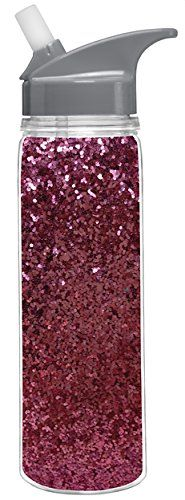 18 Oz. Double Wall Insulated Glitter Water Bottle (Silver, Pink or Gold) (Pink) SLT http://www.amazon.com/dp/B00O3G6KA6/ref=cm_sw_r_pi_dp_YT3Fub1FK57MD